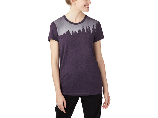 tentree Juniper T-shirt Femme, aubergine purple heather
